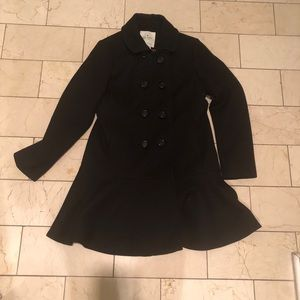 Kate Spade Double Breasted Wool Coat